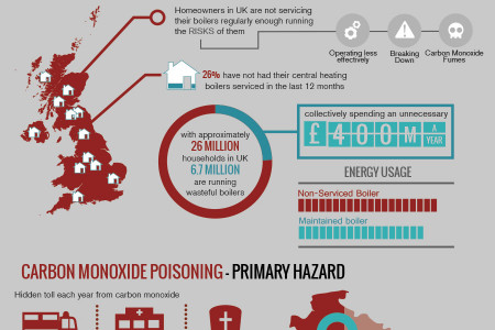 Energy Efficient Boilers to Reduce Fuel Consumption and Carbon Footprints Infographic