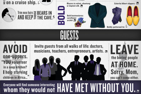 Entertain Like a Modern Gent Infographic