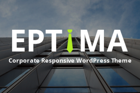 Eptima - Corporate Responsive WordPress Theme Infographic