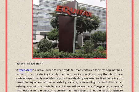 Equifax Credit Monitoring: Fraud Alerts and Active Duty Alerts Infographic