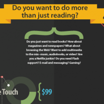 eReader Comparison  Infographic