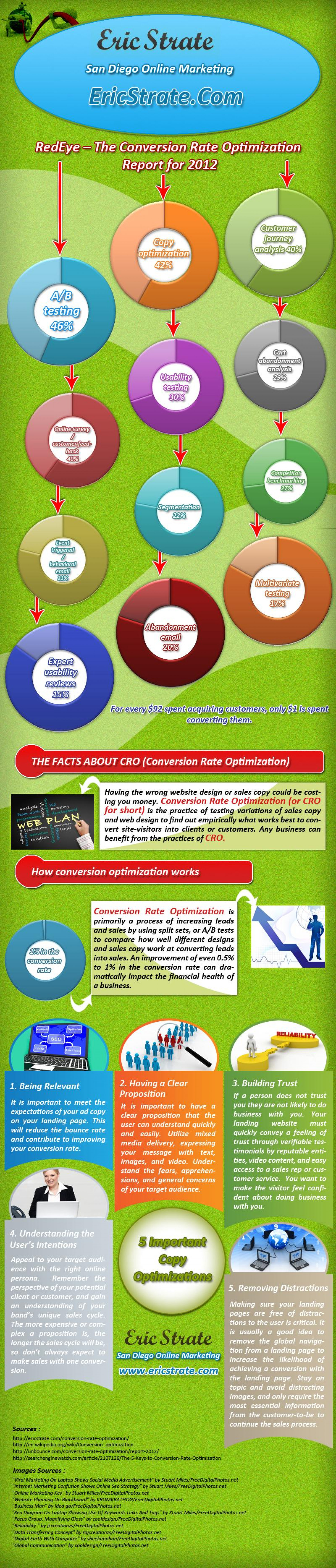Eric Strate San Diego Online Marketing Infographic
