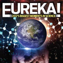 Eureka! 2012's Biggest Moments in Science Infographic