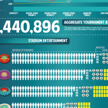 Euro 2012 Statistical Review Infographic