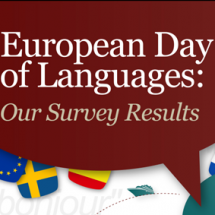 European Day of Languages Infographic
