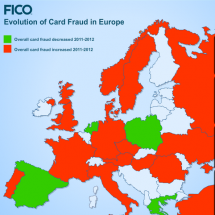 European Fraud Map Infographic
