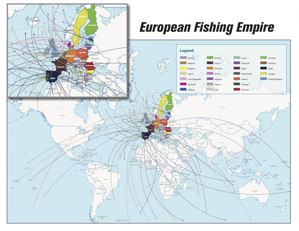 Europes Bad Habit of Fishing for Jobs Infographic