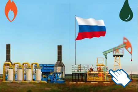 Europe's Energy Dependence on Russia Infographic