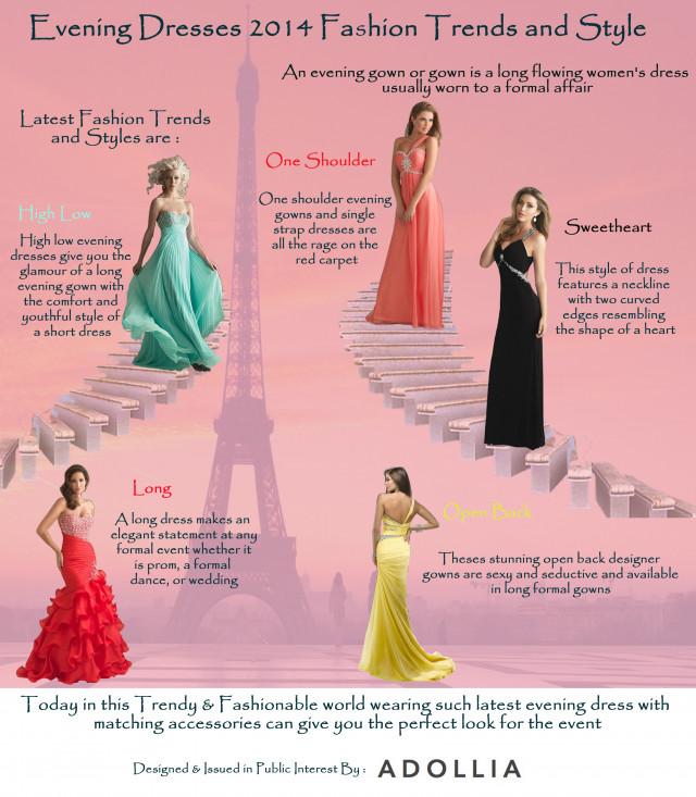 Evening Dresses 2014 Fashion Trends and Style
