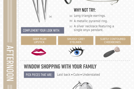 Event Jewelry: Bright Days Sultry Nights Infographic