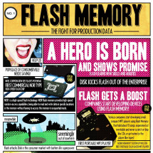 Evolution of Flash Memory Infographic