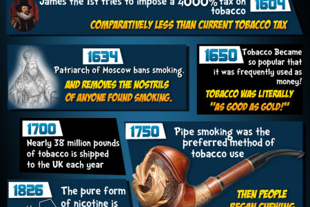 Evolution of Smoking Infographic