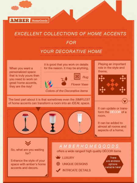 Excellent collections of home accents for your decorative home Infographic