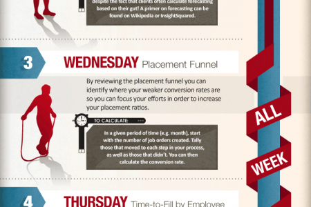 Exercise Healthy Recruiting Every Day of the Week  Infographic