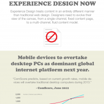 Experience Design Now! Infographic