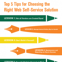 Expert Tips On How To Choose A Virtual Agent Software Provider Infographic