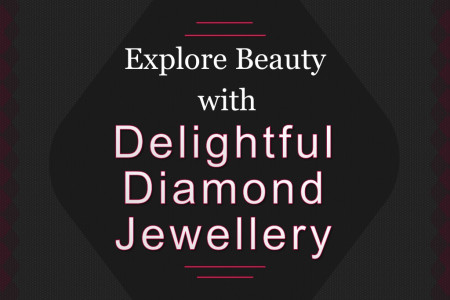 Explore Beauty with Delightful Diamond Jewellery Infographic