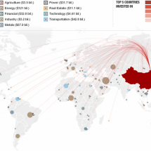 Explore China's Global Reach Infographic