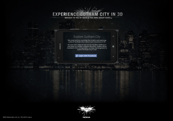 Explore Gotham City in 3D Infographic