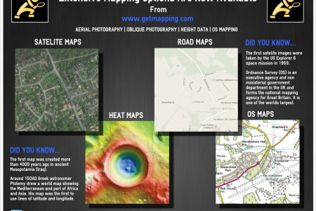 Extensive Mapping Options Now Available Infographic