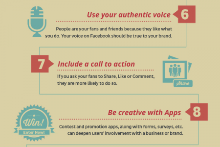 Facebook: 14 Ways to Boost Your Facebook Sharing and Visibility Infographic