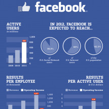 Facebook IPO: The Numbers Behind the World's Most Valuable Social Network Infographic