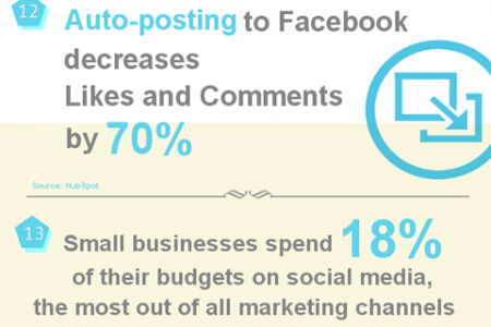 Facebook Marketing 2012: A Year in Review Infographic