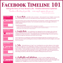 Facebook Timeline 101 Infographic