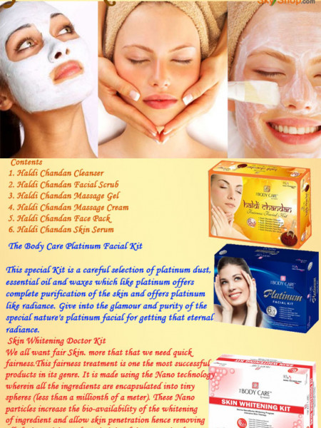 Face Care | Facial Kits Infographic