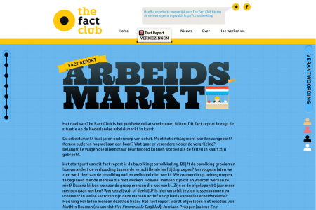Fact report Arbeidsmarkt Infographic