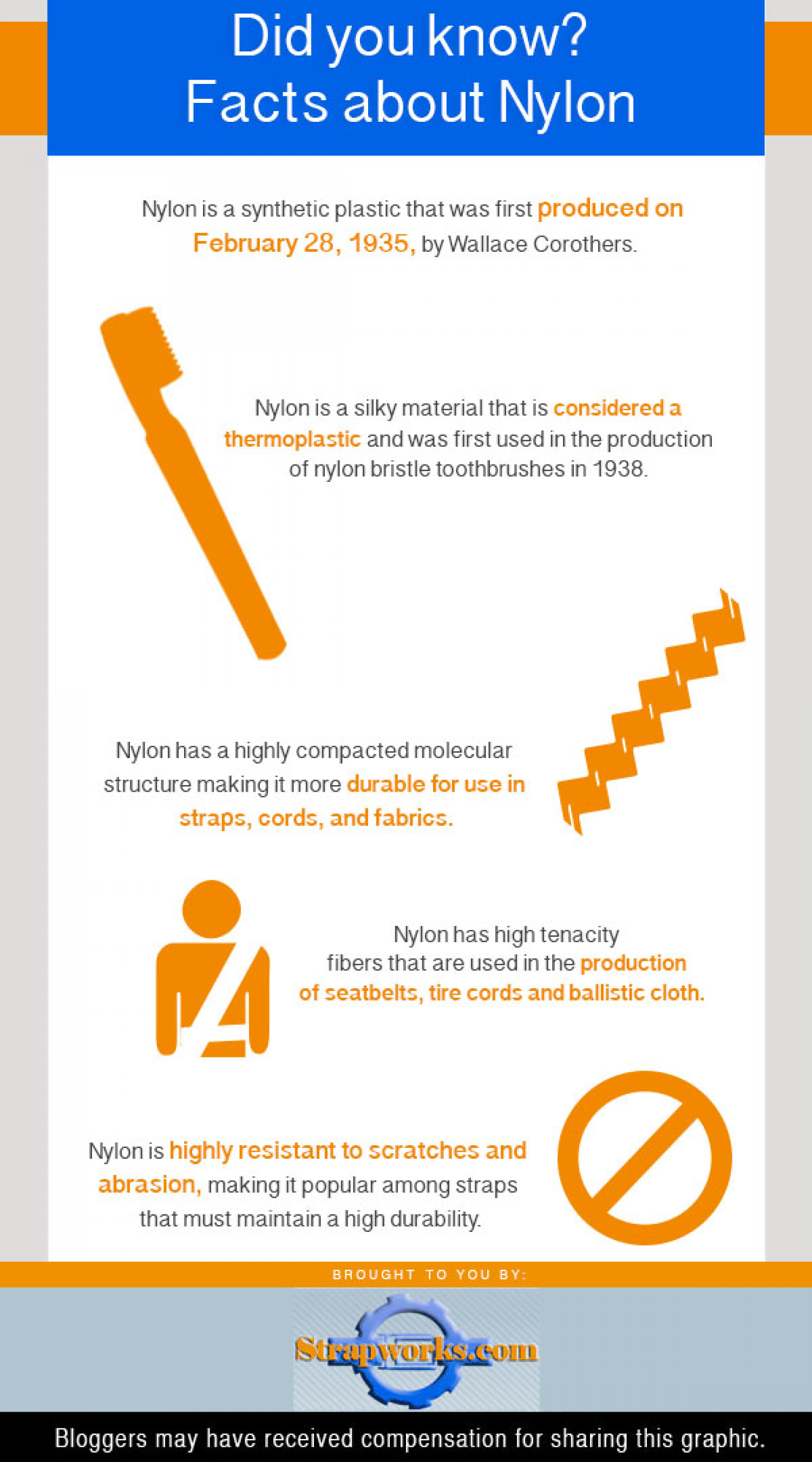 Facts About Nylon Infographic