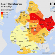 Family Homelessness in Brooklyn Infographic