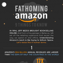 Fathoming Amazon Infographic