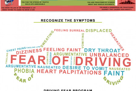 Fear of Driving Infographic