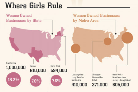 Female Entrepreneurs Infographic
