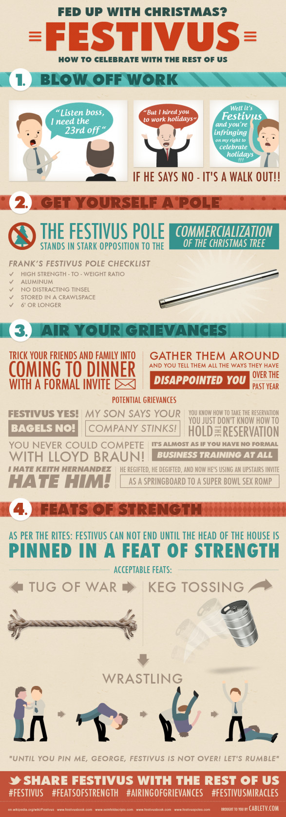 Festivus: How To Celebrate With the Rest of Us