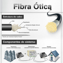 Fiber Optic Infographic