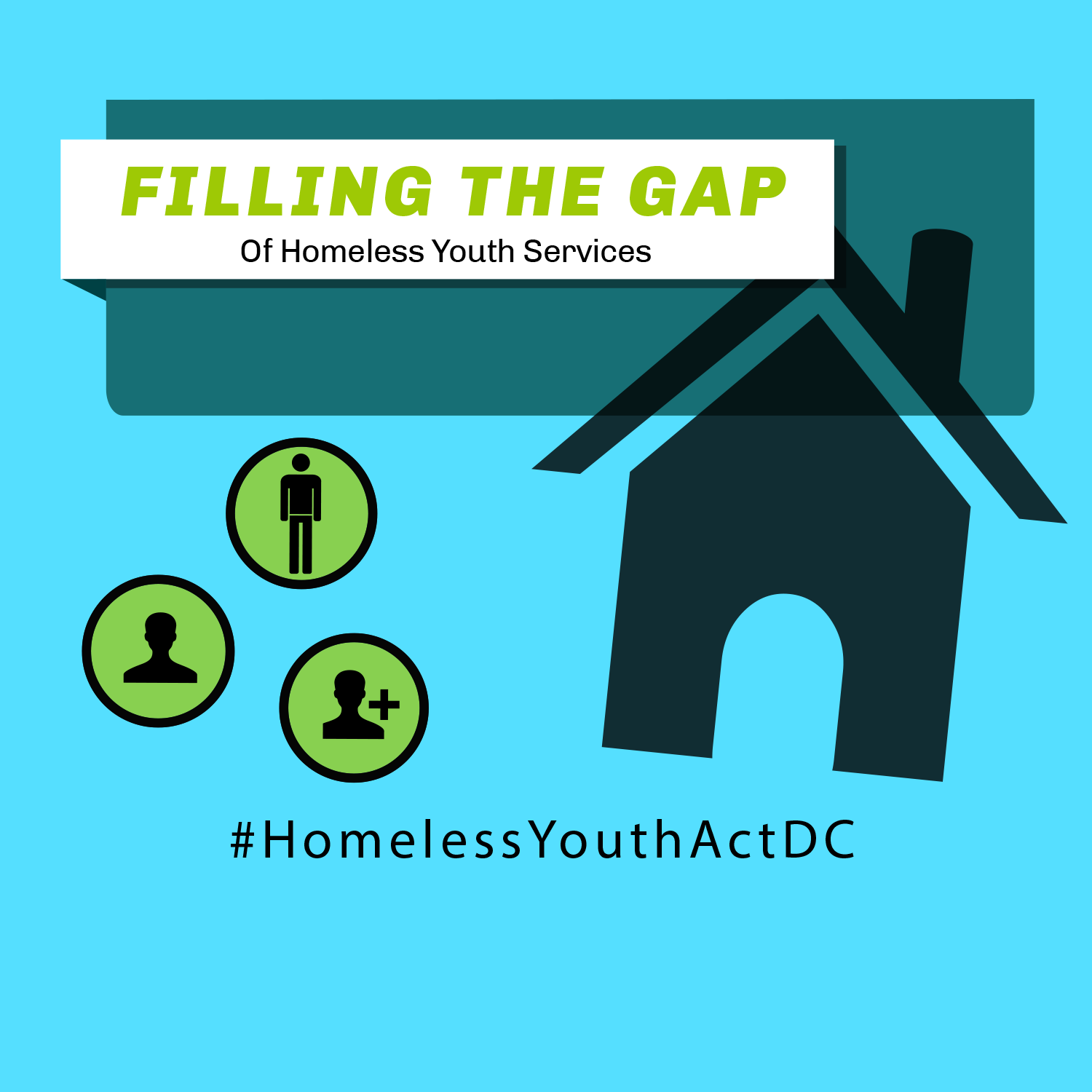 Filling the Gap of Homeless Youth Services Infographic