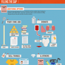 Filling the Gaps in Funding Undergraduate Education Infographic
