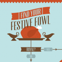 Find your festive fowl Infographic
