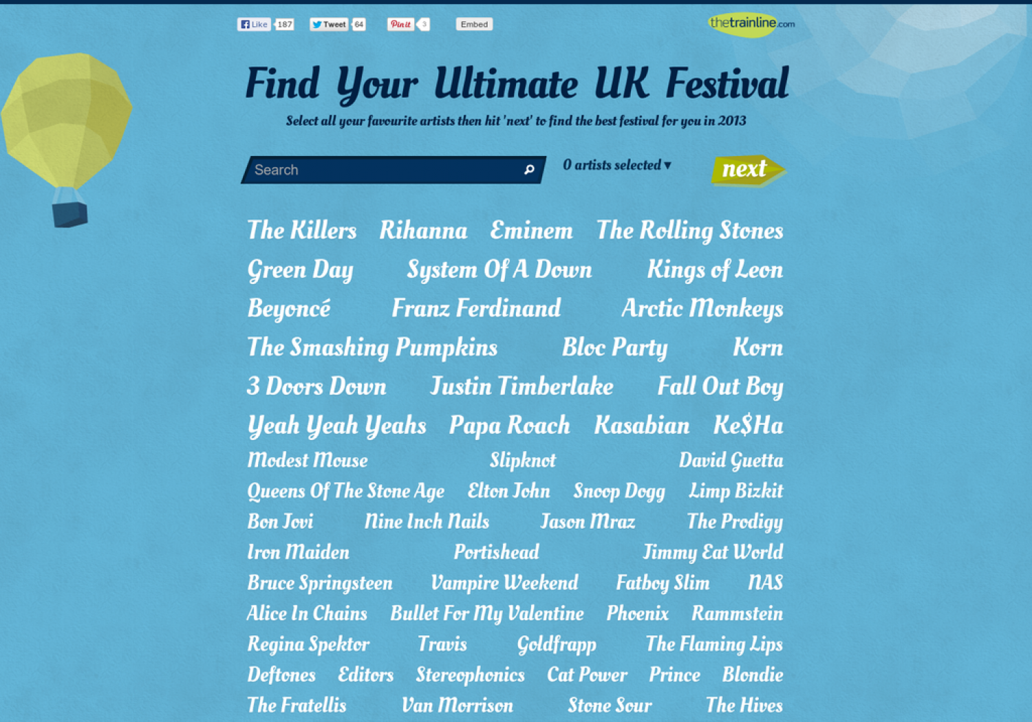Find Your Ultimate UK Festival Infographic