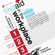 First Aid: What to do in an Emergency at Work Infographic