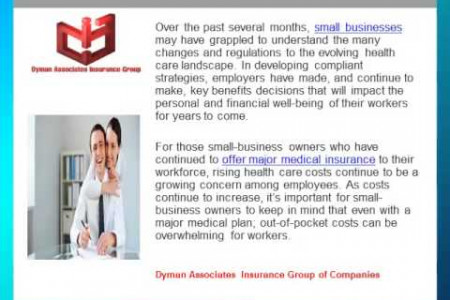 Five Health Insurance Tips that Can Make Your Workforce Appreciate You of Dyman Associates Insurance Group of Companies Infographic