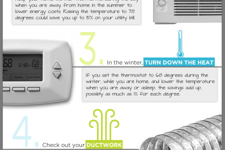 Five Tips to Lower Your Energy Bill Infographic