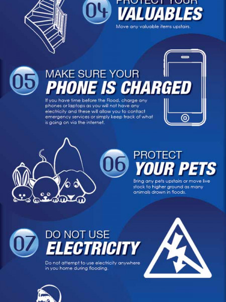 Protect Your Home 12 Flood Prep Tips Infographic
