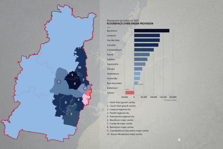 Floorspace demand studies by Local Government Areas Infographic