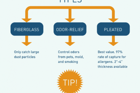 Focus on Filtration: A Guide to Furnace and AC Filters Infographic