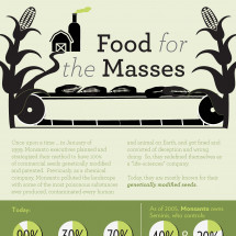 Food for the Masses Infographic