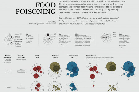Food poisoning Infographic