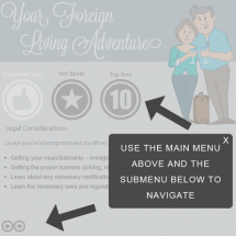 Foreign Living Adventure Infographic